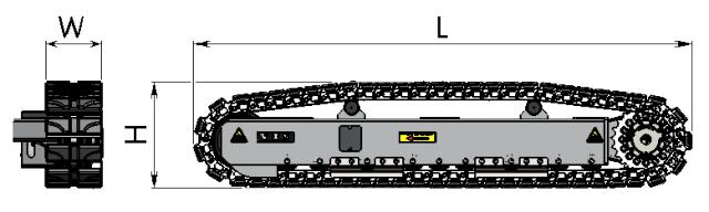 Dimensional sketch Chain